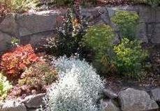 Zahradní zídky z přírodního kamene